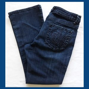 Lee Slender Secret Lower on The Waist Jeans